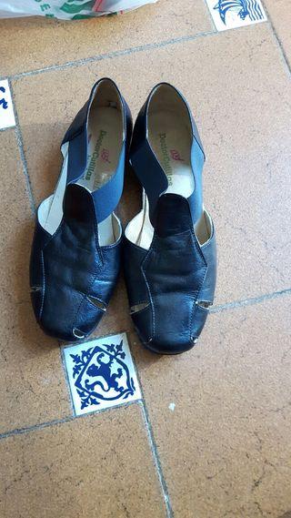 Sandalias nuevas piel