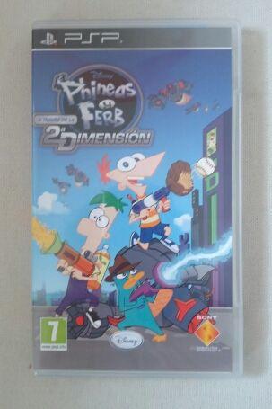 Phineas y Ferb a través de 2 Dimensión