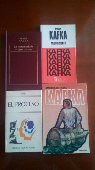 Lote Pack Libros ( Franz Kafka )