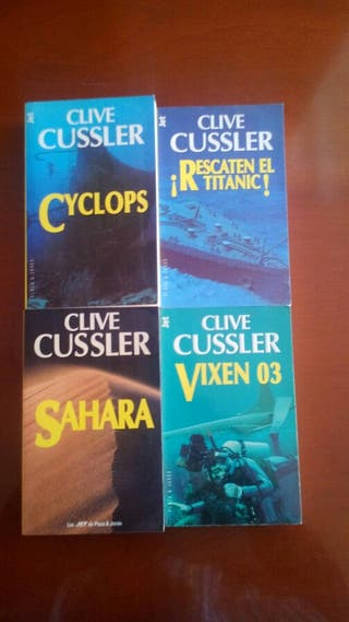 Lote Pack Libros ( Clive Cussler )