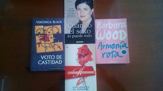 Lote Pack Libros Novela Romantica + Biografía