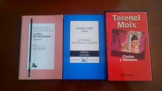 Lote Pack Libros grandes éxitos literatura española