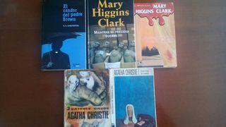 Lote Pack Libros de intriga y suspense