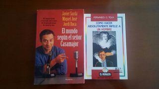 Lote Pack Libros de Humor ( Javier Sarda / Fernando G. Tola )
