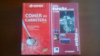 Guias de España ( Rutas turísticas y restaurantes en carreteras )