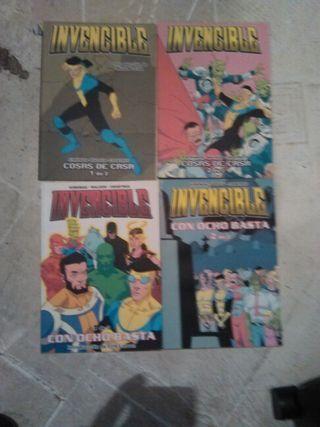 Comics invencible n°1-4