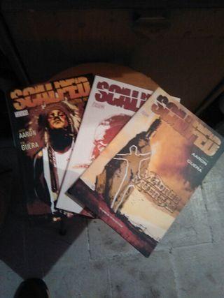 Comics scalped n° 1-3.