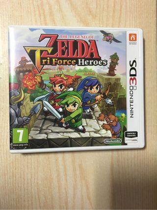 Zelda Tri Force Heroes Nintendo 3DS