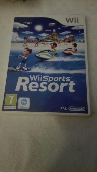 Wii sport resort