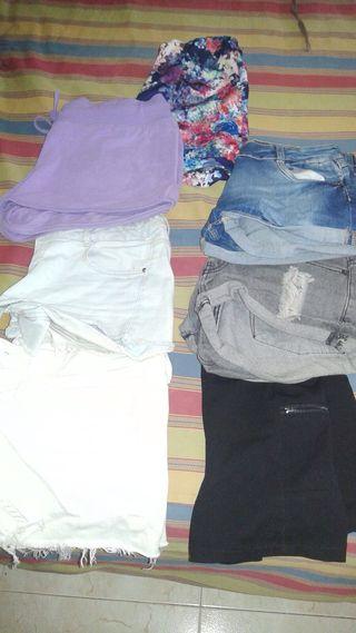 Lote de 7 shorts