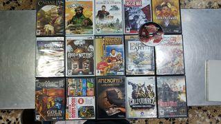 Lote 16 Juegos PC originales