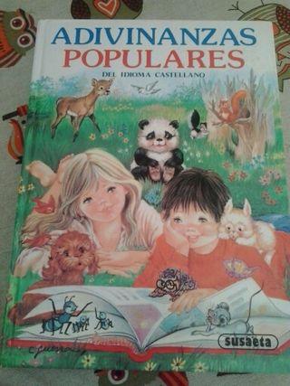 Adivinanzas populares ( libro de adivinanzas)