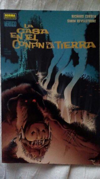 Comic de Richard Corben ( La casa en el confín de la Tierra )