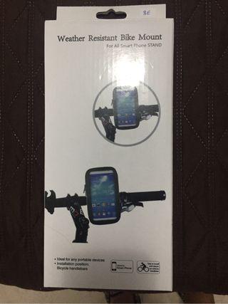 Soporte para bicicleta para poner móvil