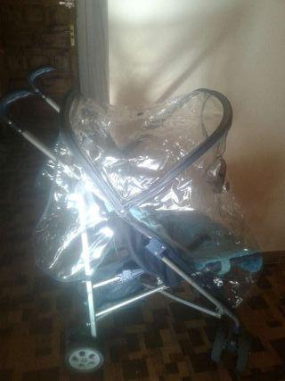 Silla de paseo nurse con plástico de llovía
