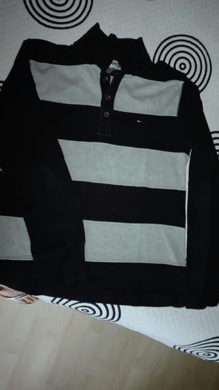 Polo manga larga Tommy Hilfiger XL