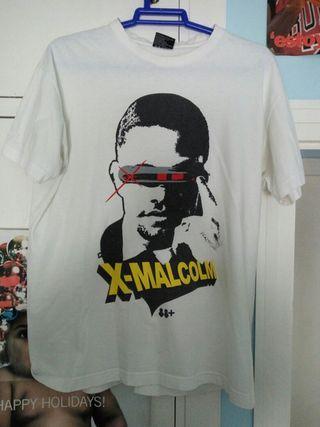 Camiseta X-Malcom superhéroe
