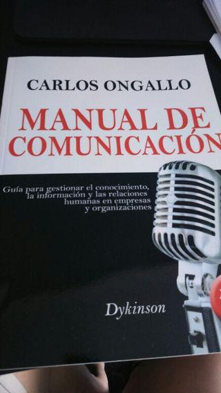 Libro manual de comunicación