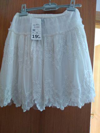 Falda talla xs