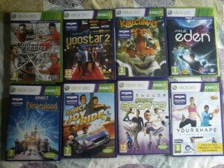 8 Juegos Para Kinect Xbox 360 De Segunda Mano Por 50 En Madrid En