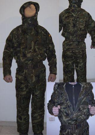 Traje camuflaje para caza