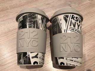 2 tazas Carolina Herrera nuevas