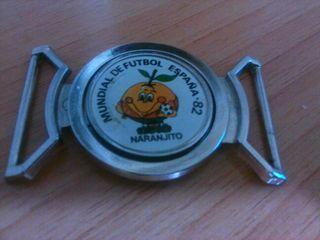 Hebilla de cinturon de naranjito