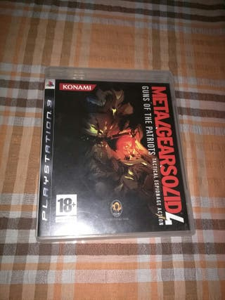 Metal gear solid 4 MGS 4 ps3
