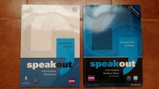 Pack libros Speak Out English Intermediate Level
