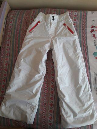 Pantalón para la ski T8 años