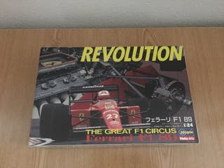 Maqueta Ferrari