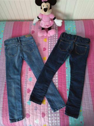 Pantalones vaqueros elásticos 2-3 años