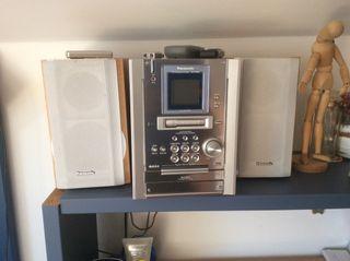 Panasonic Cd Stereo Sistem Sa Pm 25