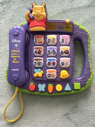 Teléfono Winnie the Pooh