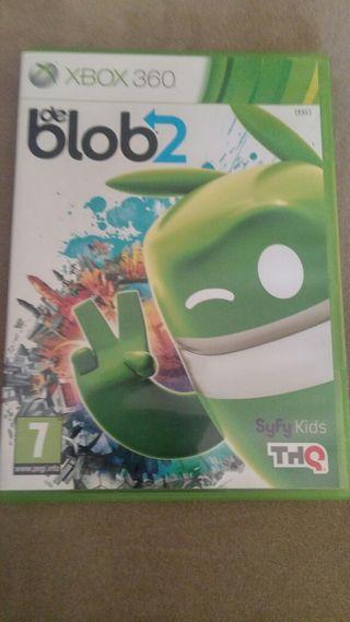 Juego Xbox 360 De blob2