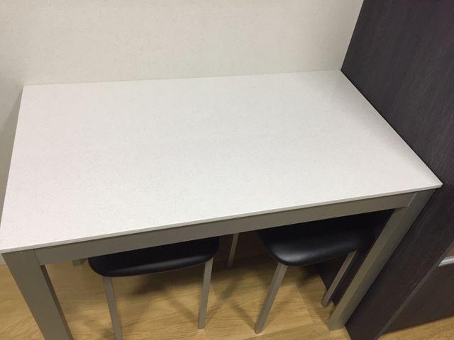 Mesa cocina silestone blanco de segunda mano por 200 € en Barcelona ...