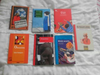 Libros DBH y BATXILLER en euskera