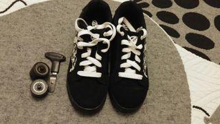 Zapatillas de ruedas talla 36'5 Heelys