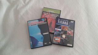 Pack documentales DVD segunda mano  España
