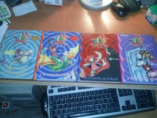 Lote 4 libros Kika Superbruja