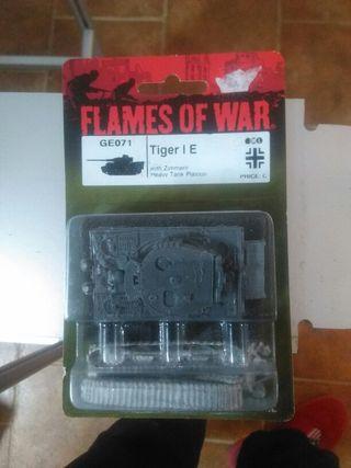 Tiger I E Flames Of War Nuevo
