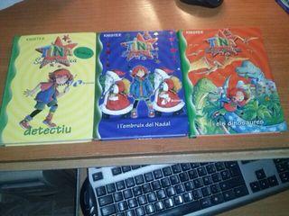 3 libros Tina Superbruixa