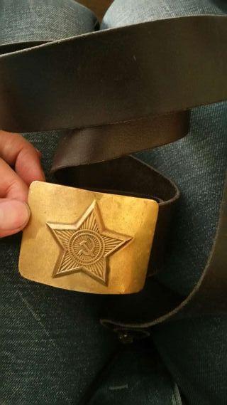 Cinturón urss antiguo militar