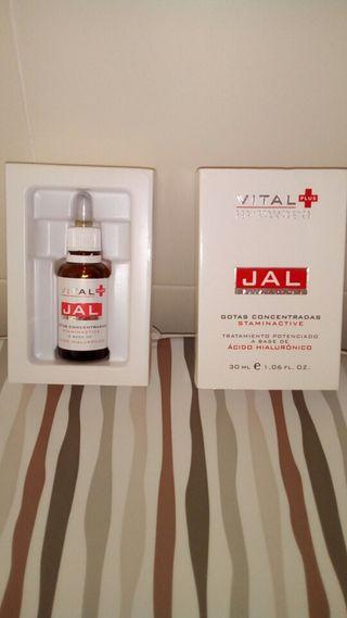 Gotas de Acido Hialuronico para el cutis.