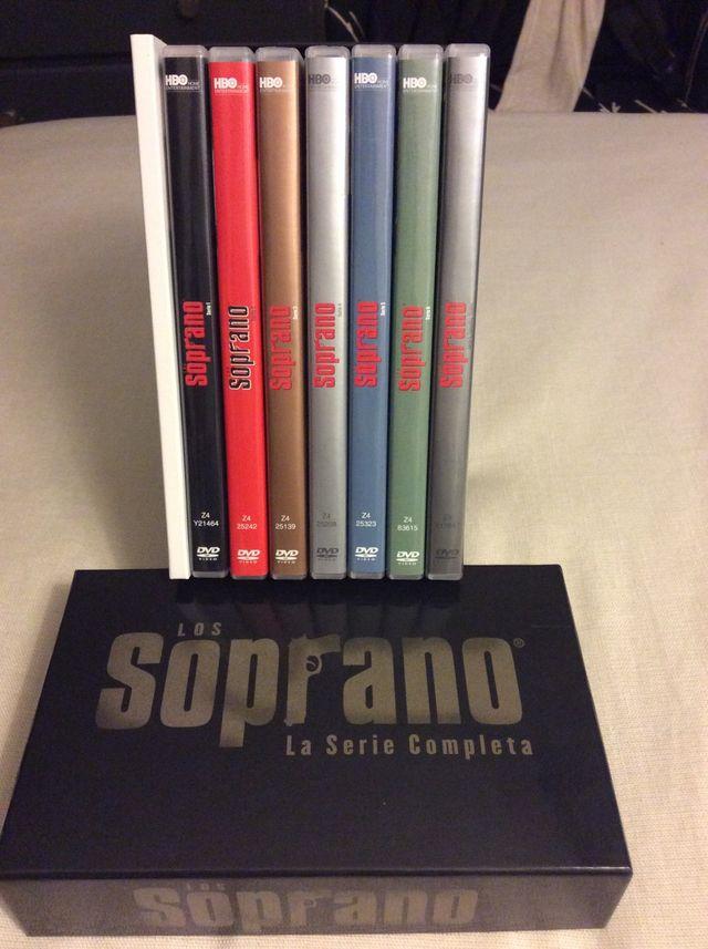 Serie Los Soprano Completa