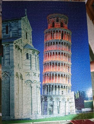 Puzle 1500 piezas Pisa