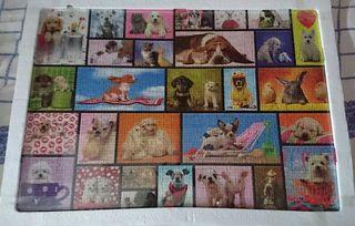 Puzzle de 1500 piezas perritos