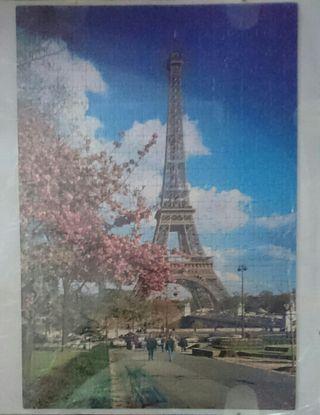 Puzle 1000 piezas Torre Eiffel