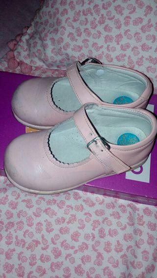 zapatos rosa num 24