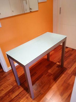 Mesa cocina con dos sillas de segunda mano por 140 en for Wallapop mesas